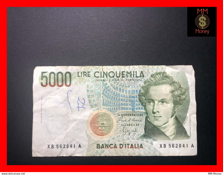 "ITALY 5.000  5000 Lire  12.11.1993   P. 111  ""replacement  Serie XB""  Cuts - Pen   Fine      [MM-Money] - 5000 Lire"