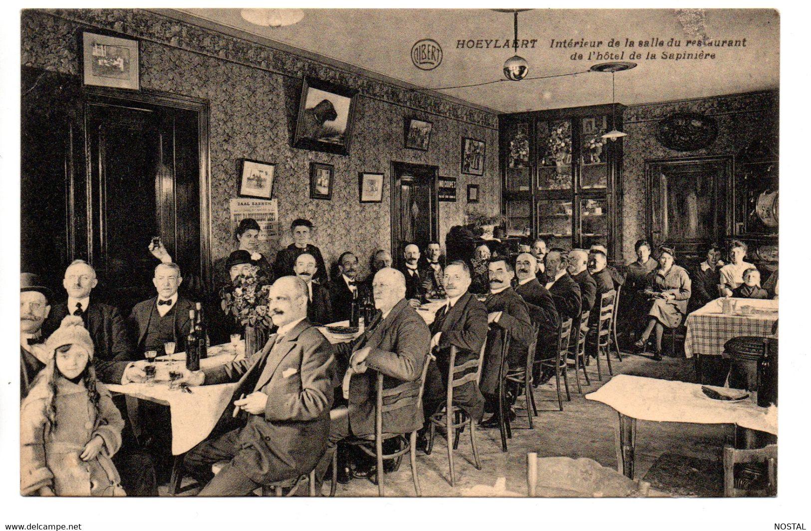 Hoeylaert: Intérieur De La Salle Du Restaurant - Hoeilaart