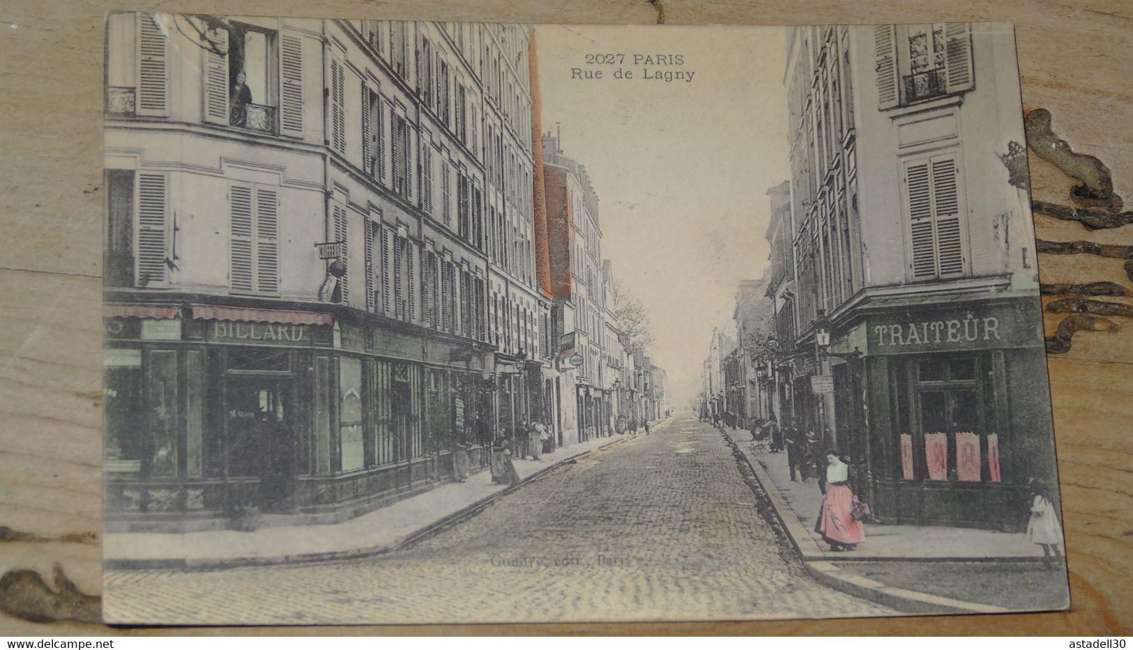 PARIS : Rue De Lagny ................ 201101b-2583 - Distrito: 20