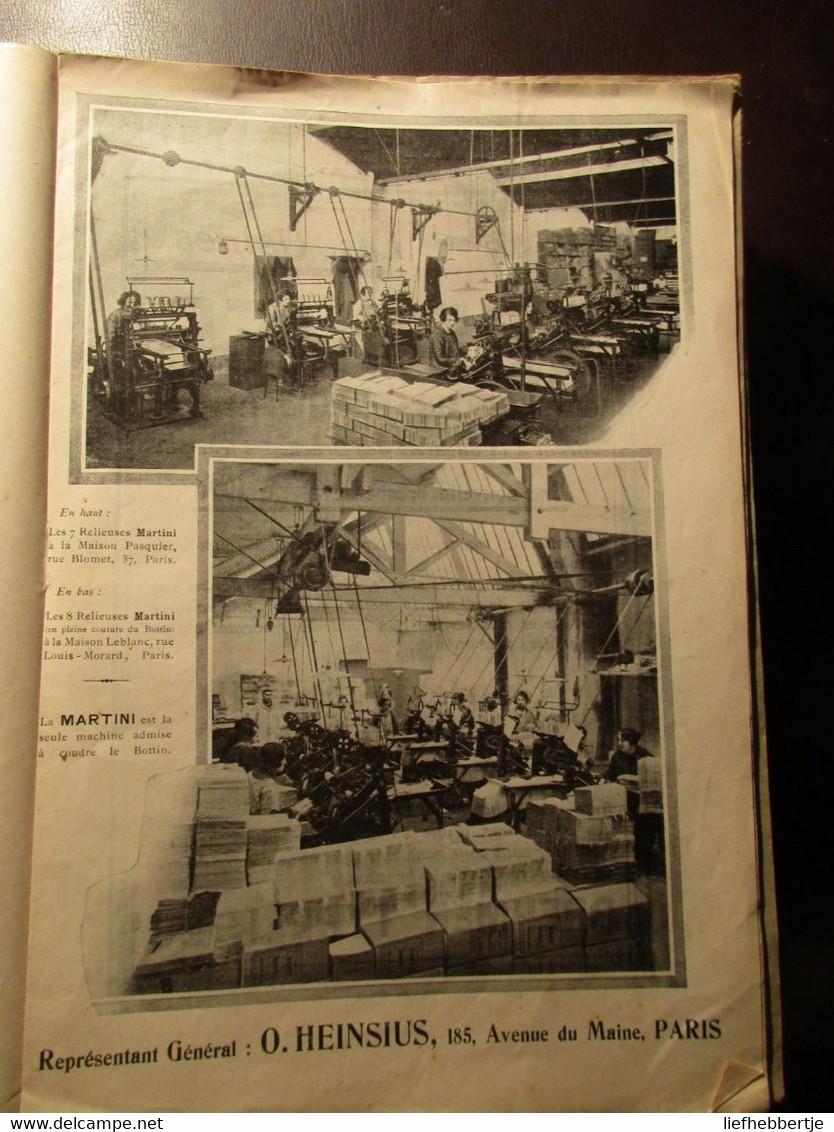 La Reliure : Revue Du Syndicat Des Patrons - Boekbinderij Boekbinden Boekband Boekrestauratie 1926-1934 - Practical