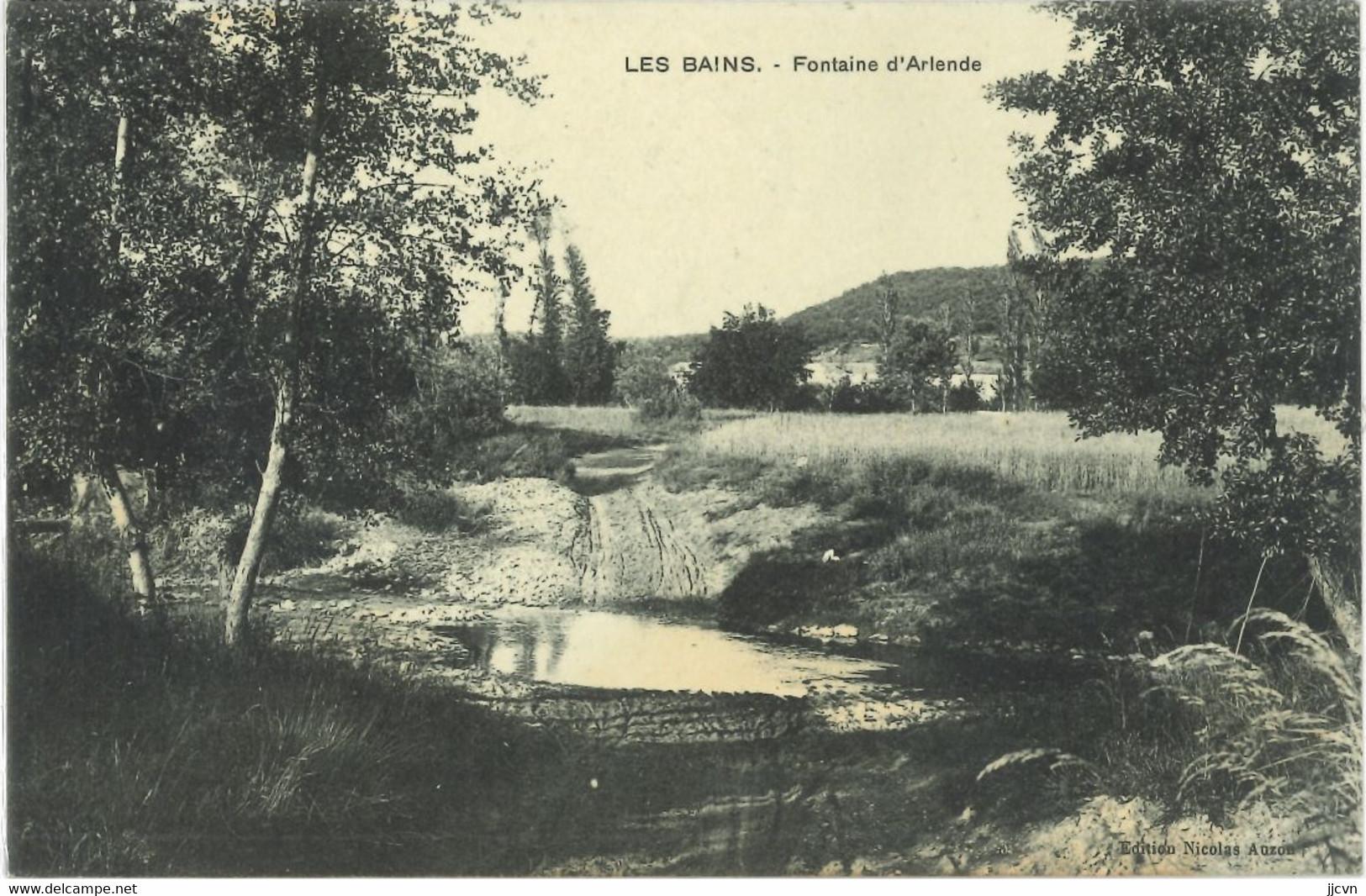 30 : Gard - Les Fumades - Fontaine D' Arlende - Other Municipalities