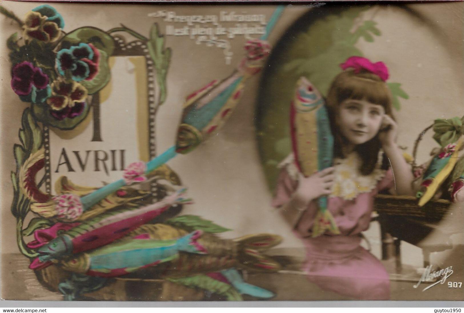 Très Bon Lot De 50 Cpa 1er Avril - 5 - 99 Postkaarten
