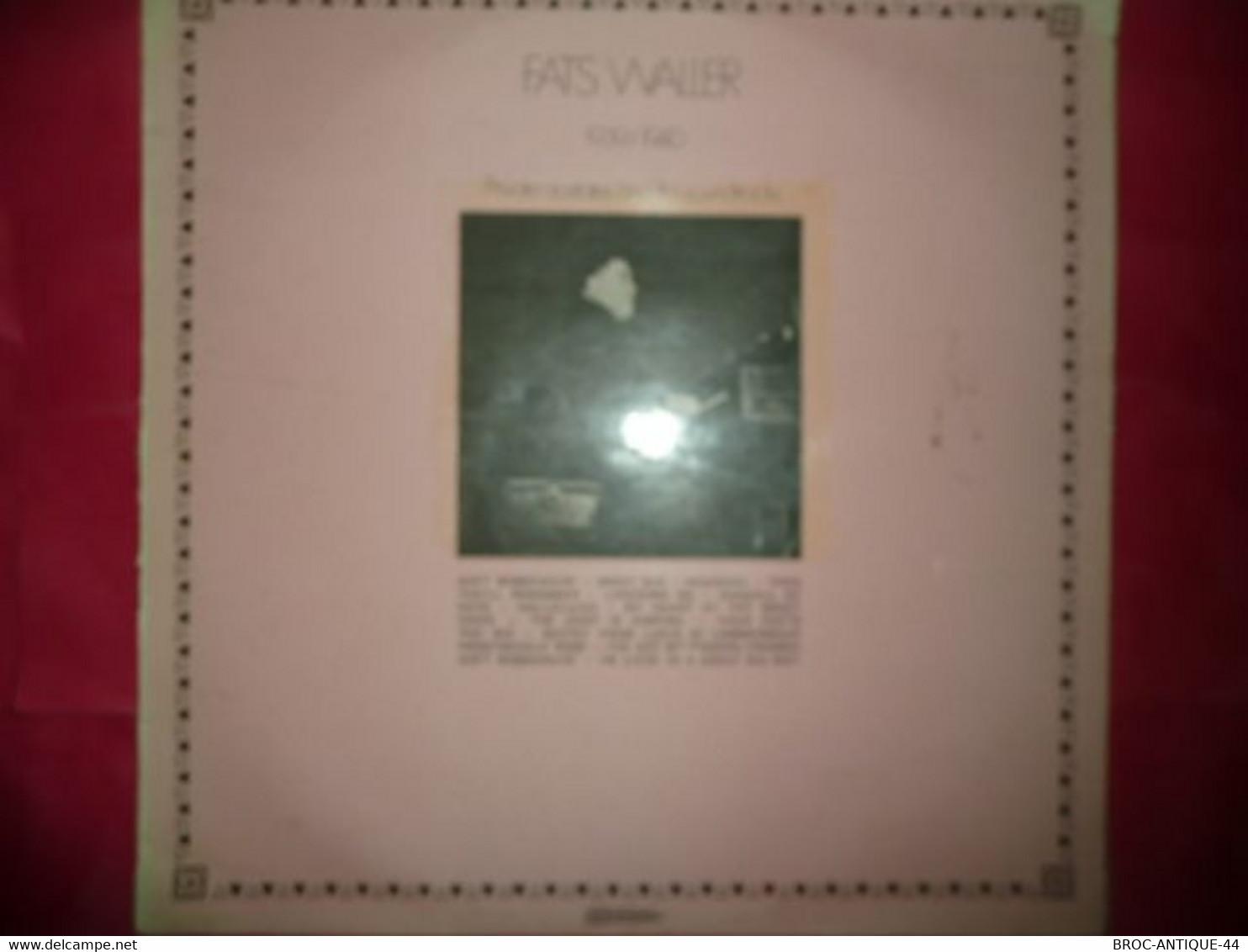 LP33 N°7873 - FATS WALLER - 30 JA 5148 - Jazz