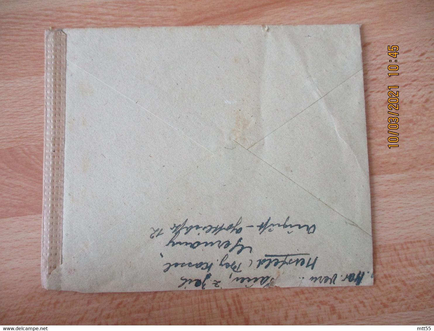 1944 Lettre Ouverture  Censure   Censure Allemande Et Americaine Soldat Allemand Prisonnier A New York - 2. Weltkrieg 1939-1945