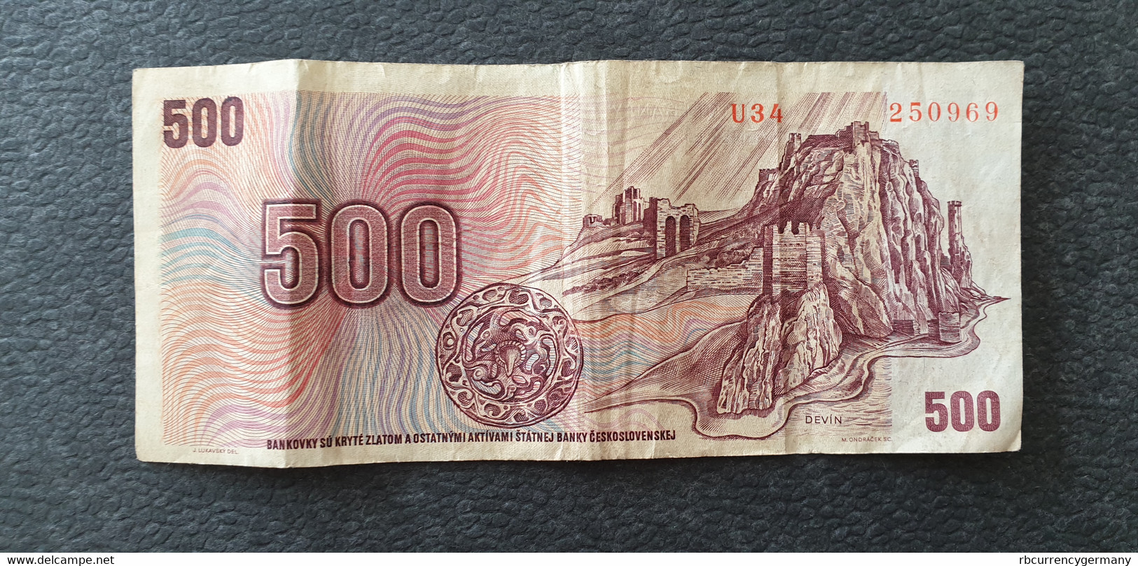 Czechslovakia / Tschechoslowakei 500 Korun 1973  /21.04 - Czechoslovakia
