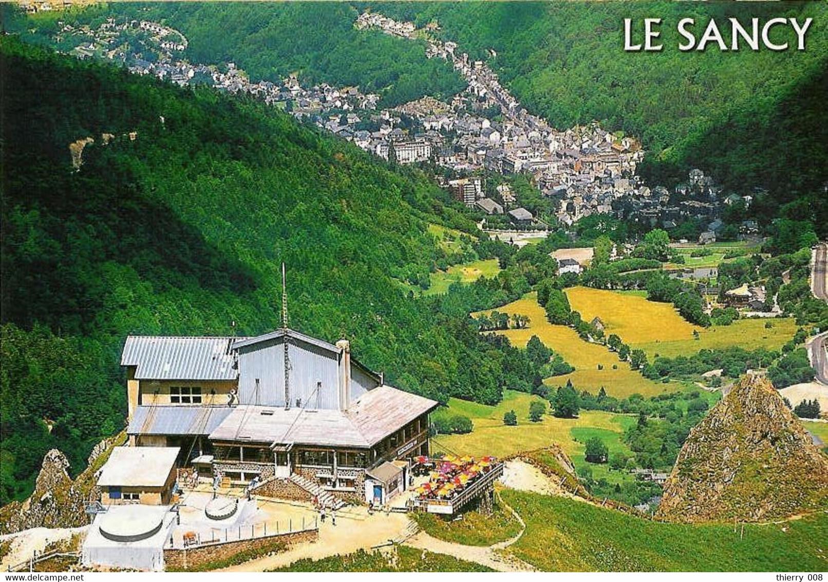 311  Carte Postale  Massif Du Sancy  Vallée De La Fontaine Salée  63  Gare Supérieure Du Téléphérique  Auvergne - Other Municipalities