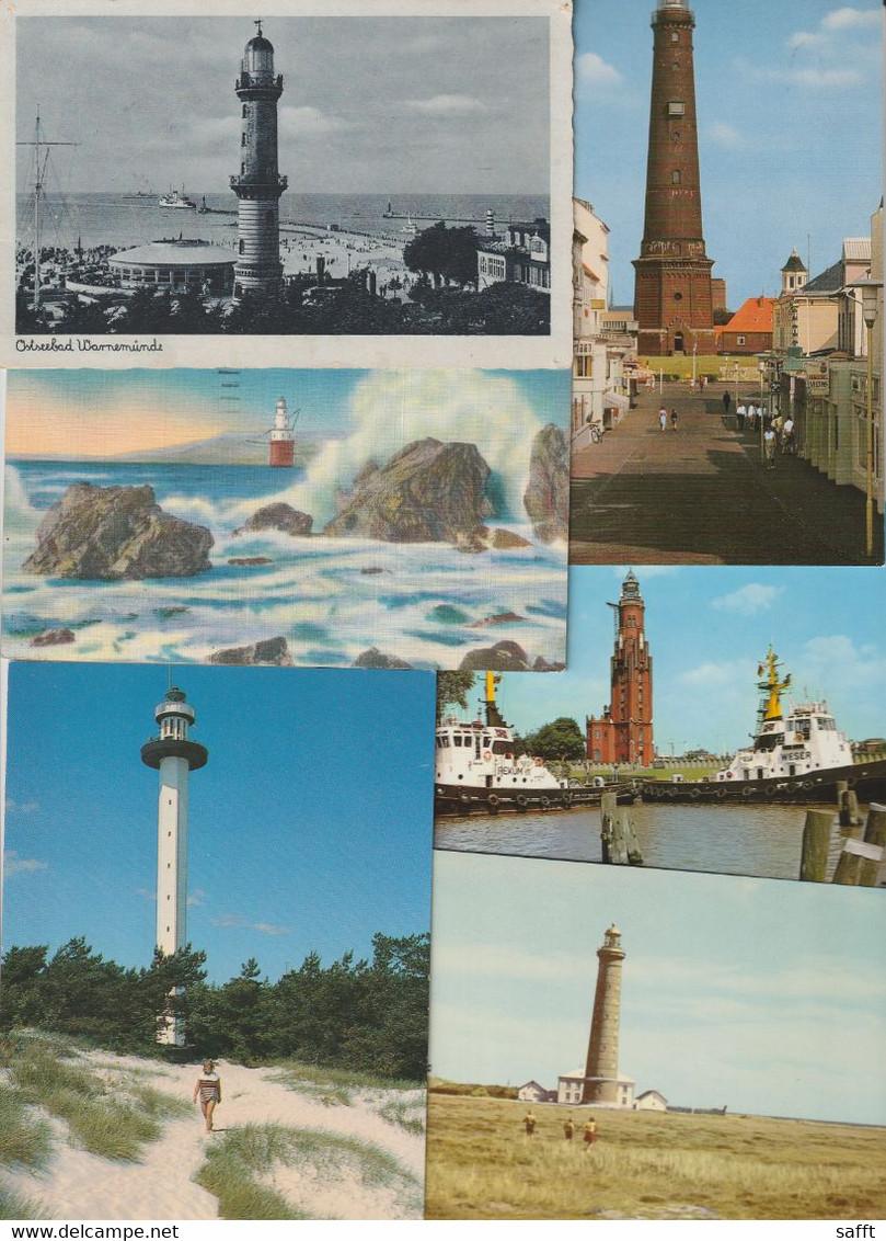 Lot 43 Ansichtskarten Motiv Leuchtturm, In- Und Ausland - 5 - 99 Cartes