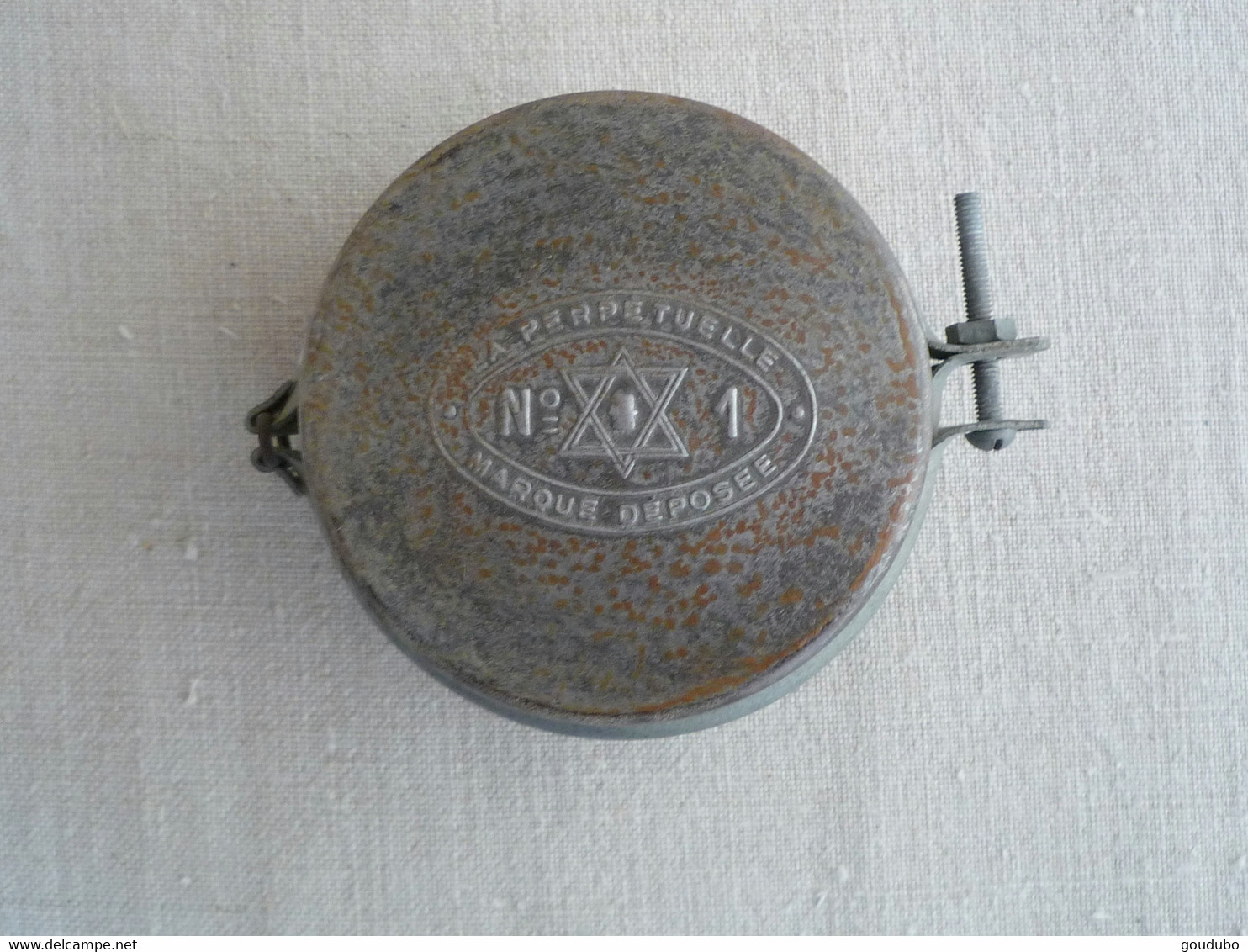 Gamelle Conserve La Perpétuelle N°1 Poilu WW1 étoile De David. - Equipment