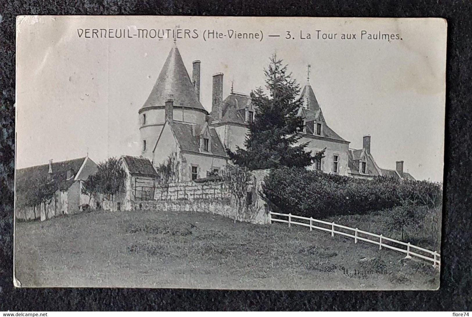 Haute-Vienne : ST-Sornin-Leulac, St-Victurnien, Sauvagnac, Verneuil-Moustiers, Château De Valmate - Autres Communes