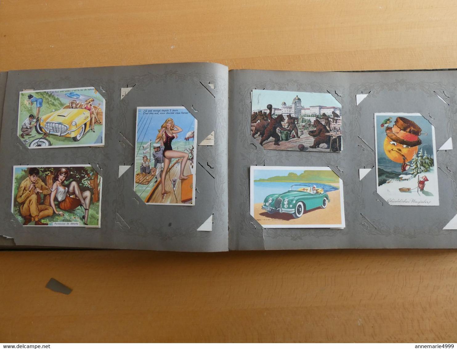 ALBUM De 280 Cartes Postales  Tout Est Scanné Très Bonne Qualité Générale - 100 - 499 Cartoline