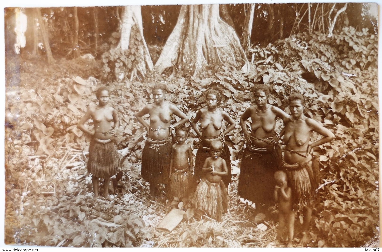 C. P. A. : PALAU : Women In Forest, In 1920 - Palau