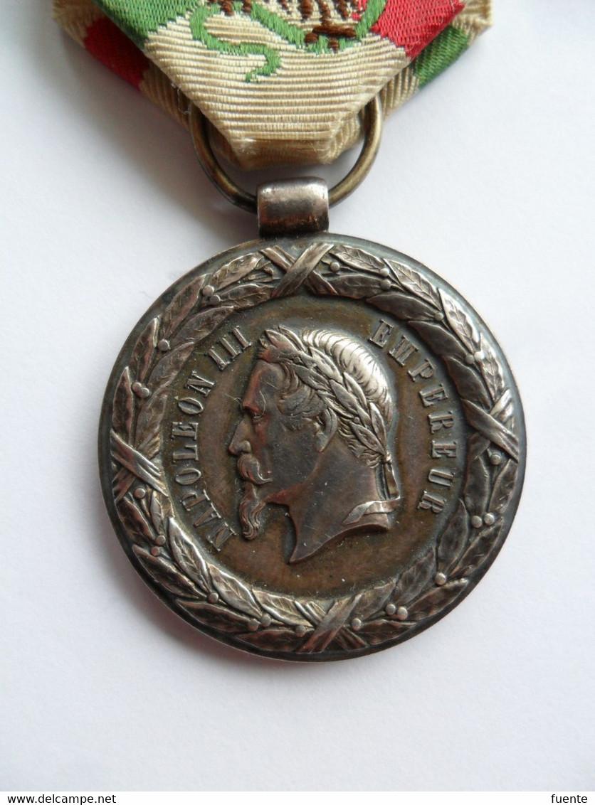 Médaille Du Mexique Modèle Sacristain Sans Signature, épaisse, Rare - Before 1871