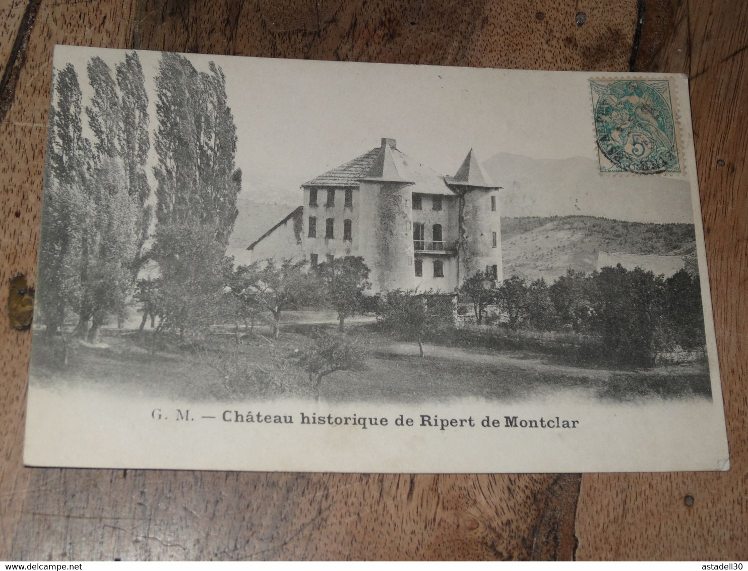 Chateau De RIPERT De MONTCLAR ................ 201101b-3071 - Sin Clasificación