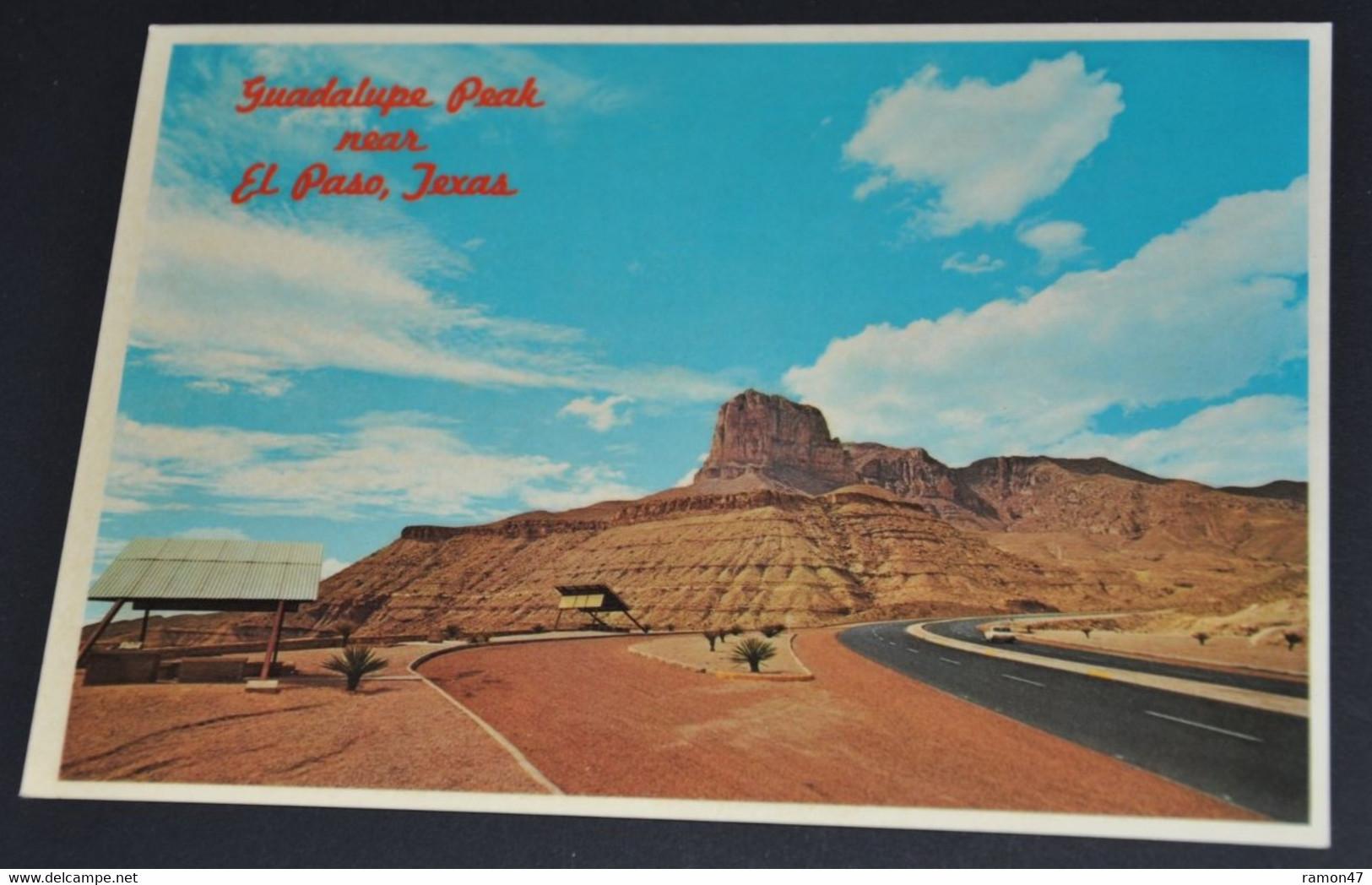 Guadalupe Peak Near El Paso, Texas - El Paso