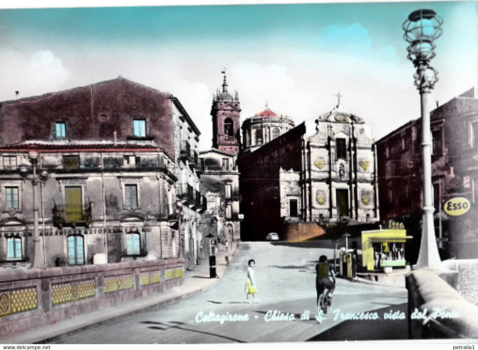 CT 126 - Caltagirone – Chiesa Di S.Francesco Vista Dal Ponte - Other Cities
