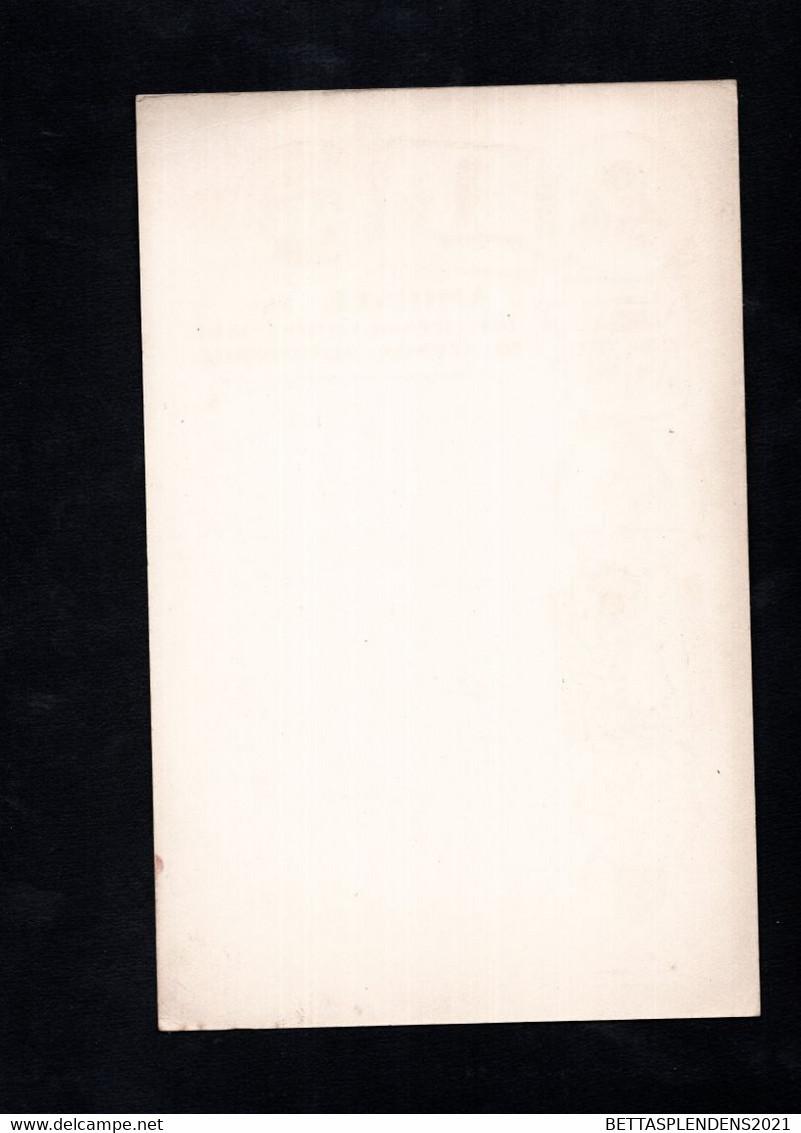 MENU Diner Du 14 Octobre 1921 - AMICALE Des OFFICIERS De COMPLEMENT Du SERVICE AUTOMOBILE - PALAIS D'ORSAY - Menú