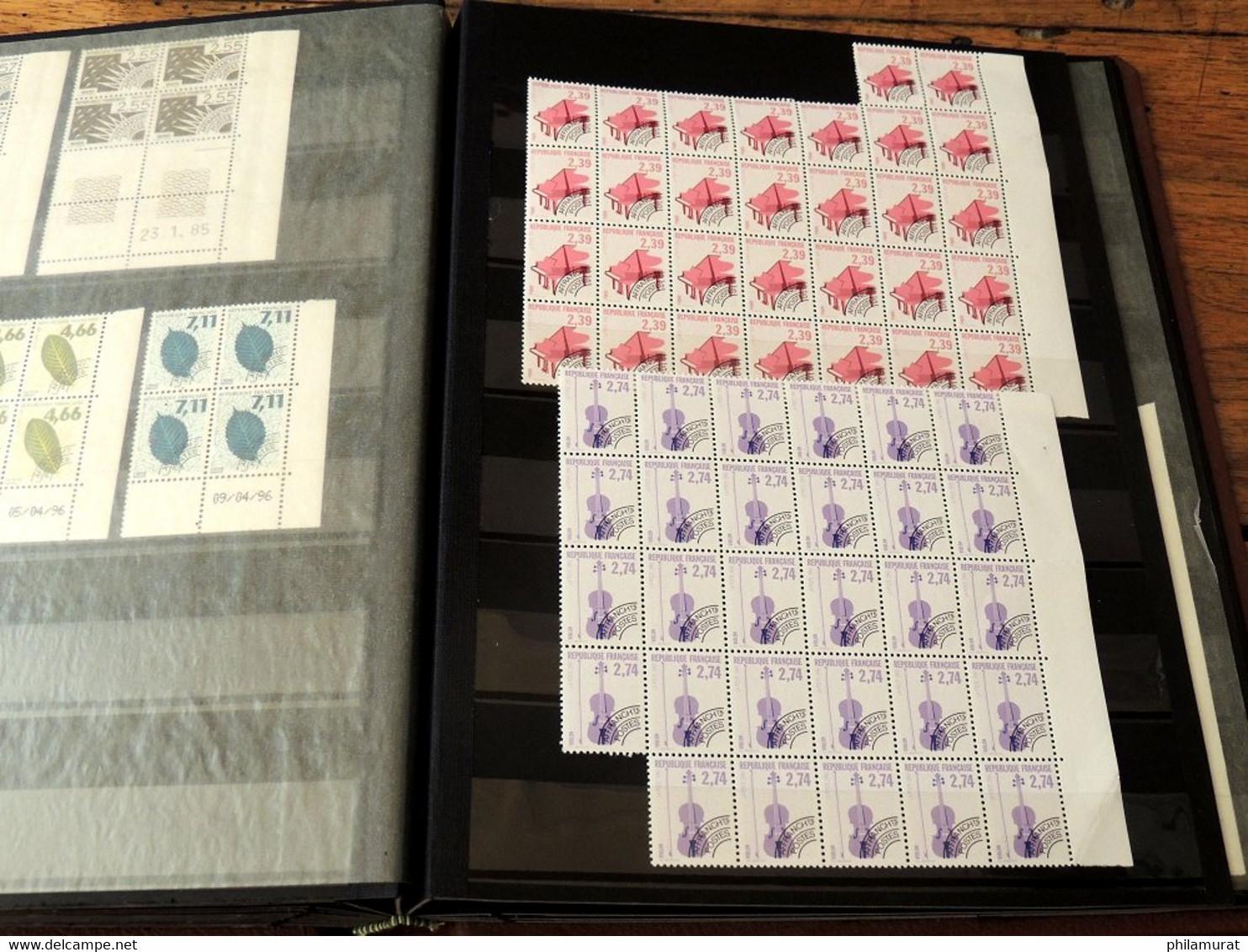 France Préoblitérés 1960/2010 - Accumulation Neufs ** Sans Charnière TB - Verzamelingen