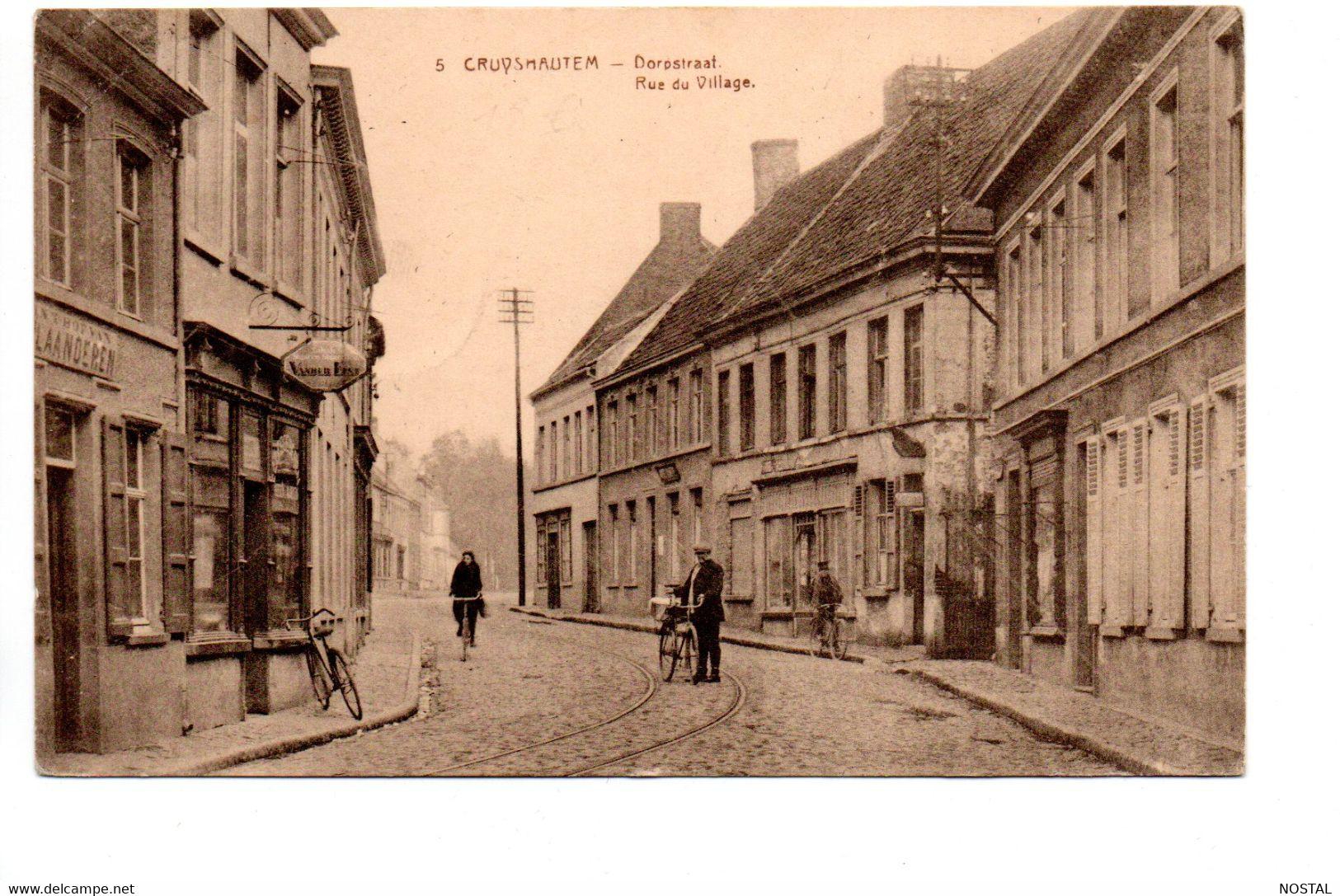 A45 Cruyshautem: Dorpstraat - Kruishoutem