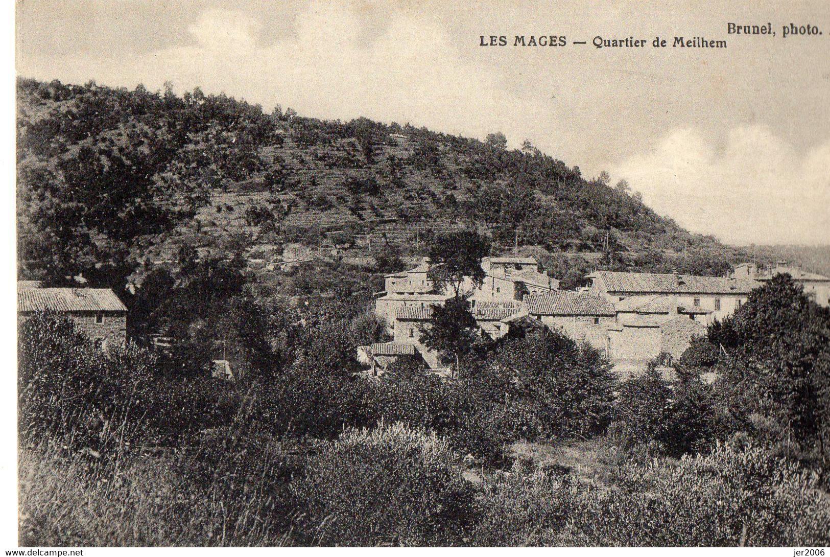 30. GARD // LES MAGES. QUARTIER DE MEILHEM // - Other Municipalities
