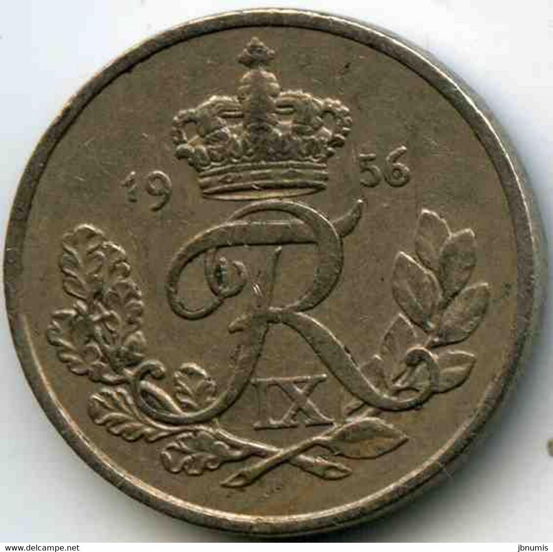 Danemark Denmark 25 Ore 1956 CS KM 842.2 - Denmark