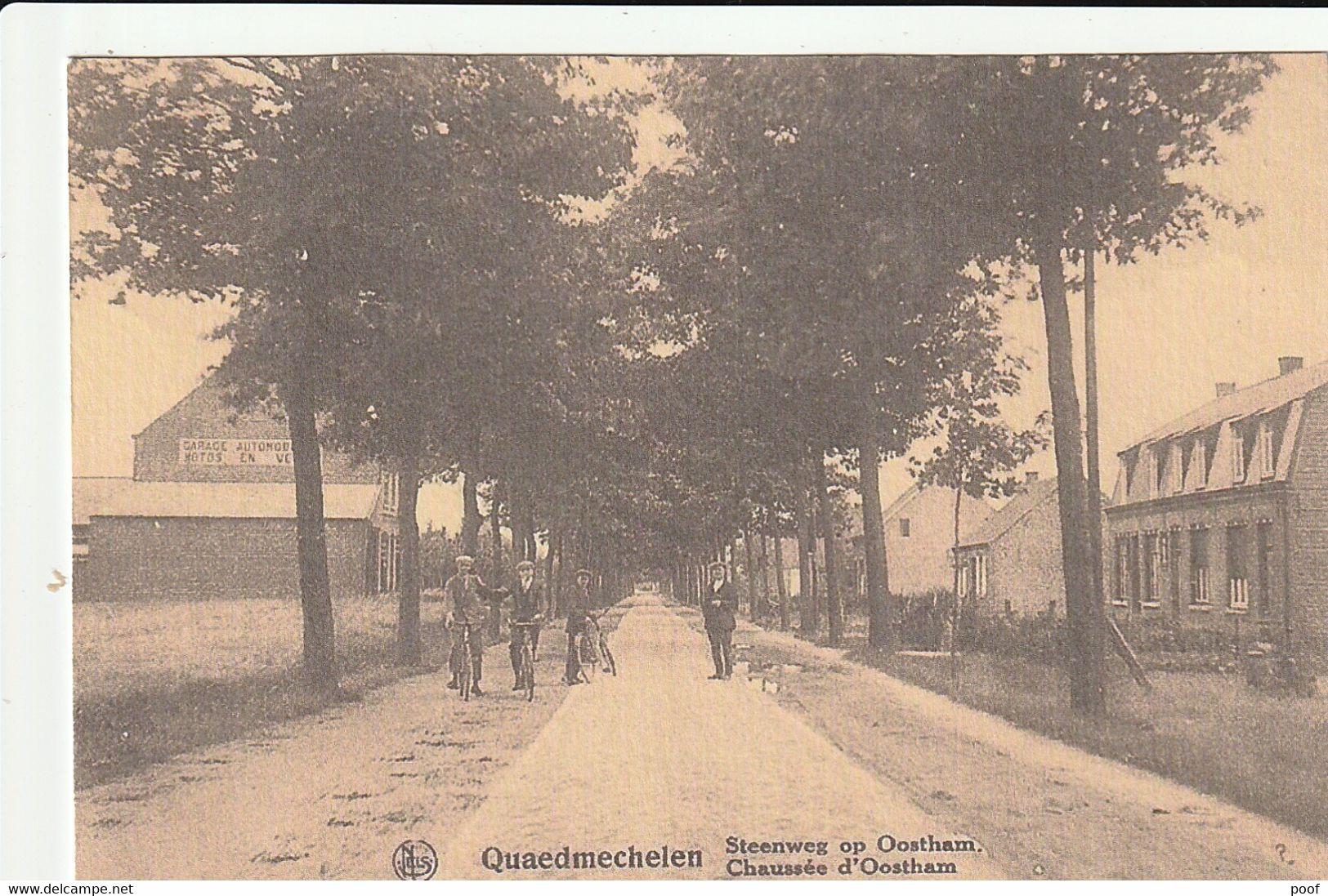 Quaedmechelen / Kwaadmechelen : Steenweg Op Oostham - Ham