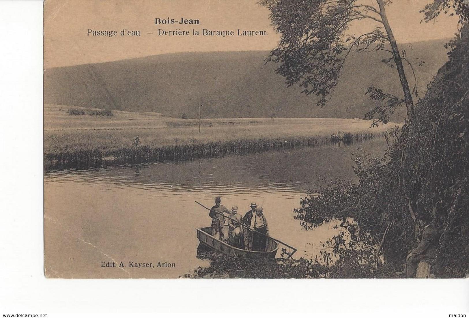 Bois-Jean Passage D'eau Derrière La Baraque Laurent - Vresse-sur-Semois