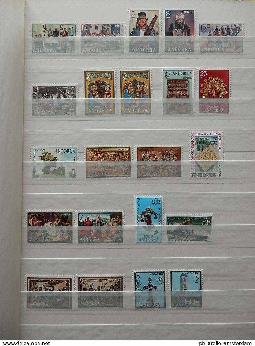 Andorra, Faroe Islands, Iceland, Monaco: MNH Collection - Collezioni (in Album)