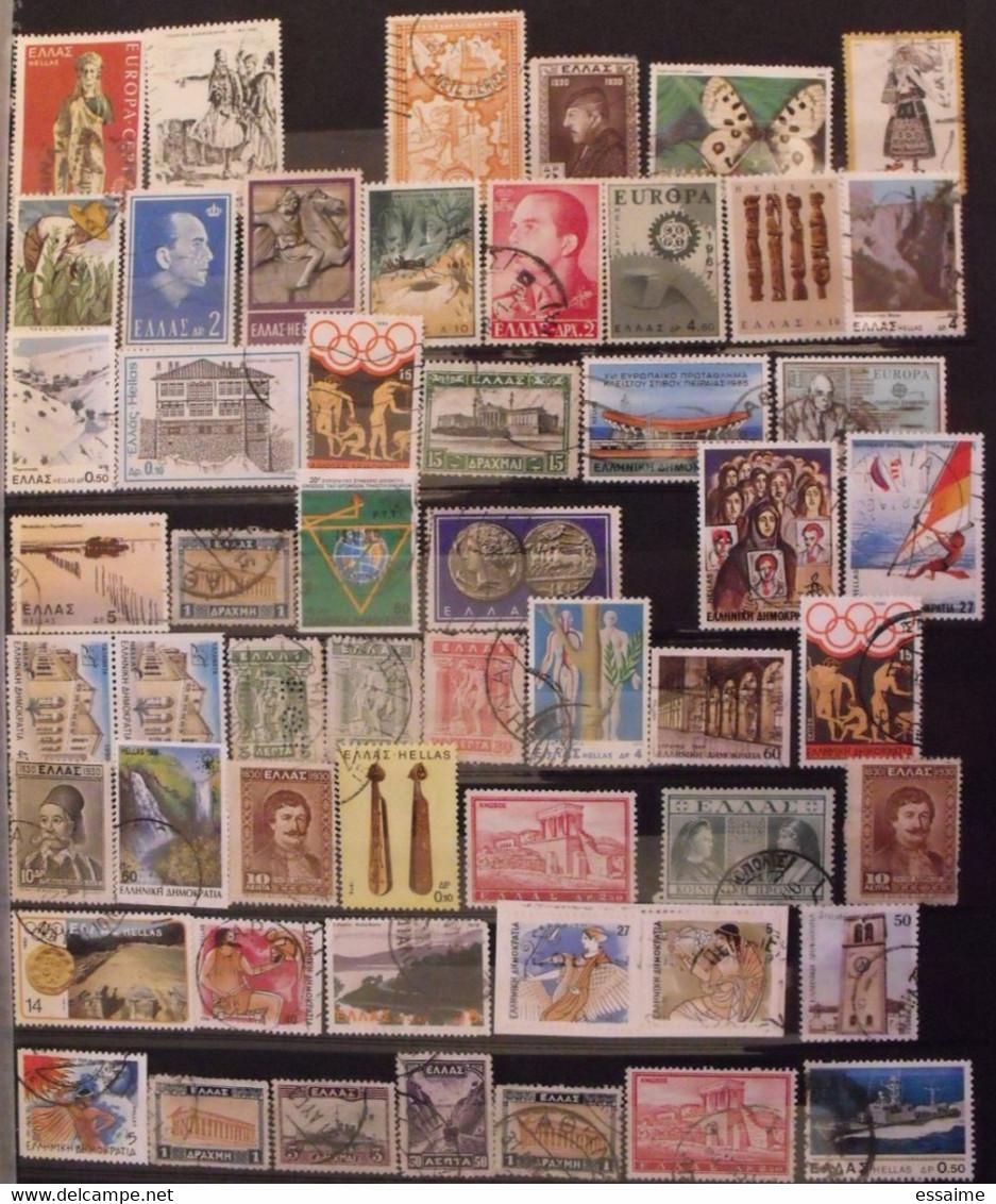 Grèce. Collection De 95 Timbres. - Collections