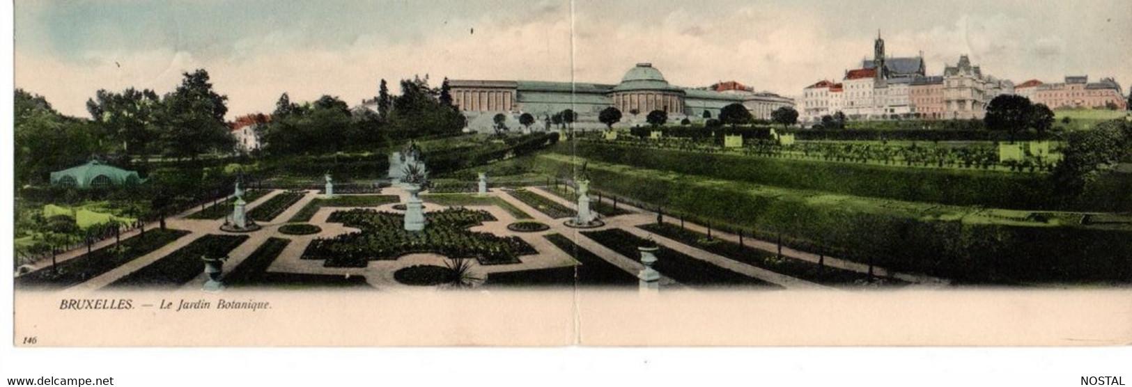 Bruxelles: Le Jardin Botanique (Vanden Heuvel  146 Carte Double - Tweeluik) - Bossen, Parken, Tuinen