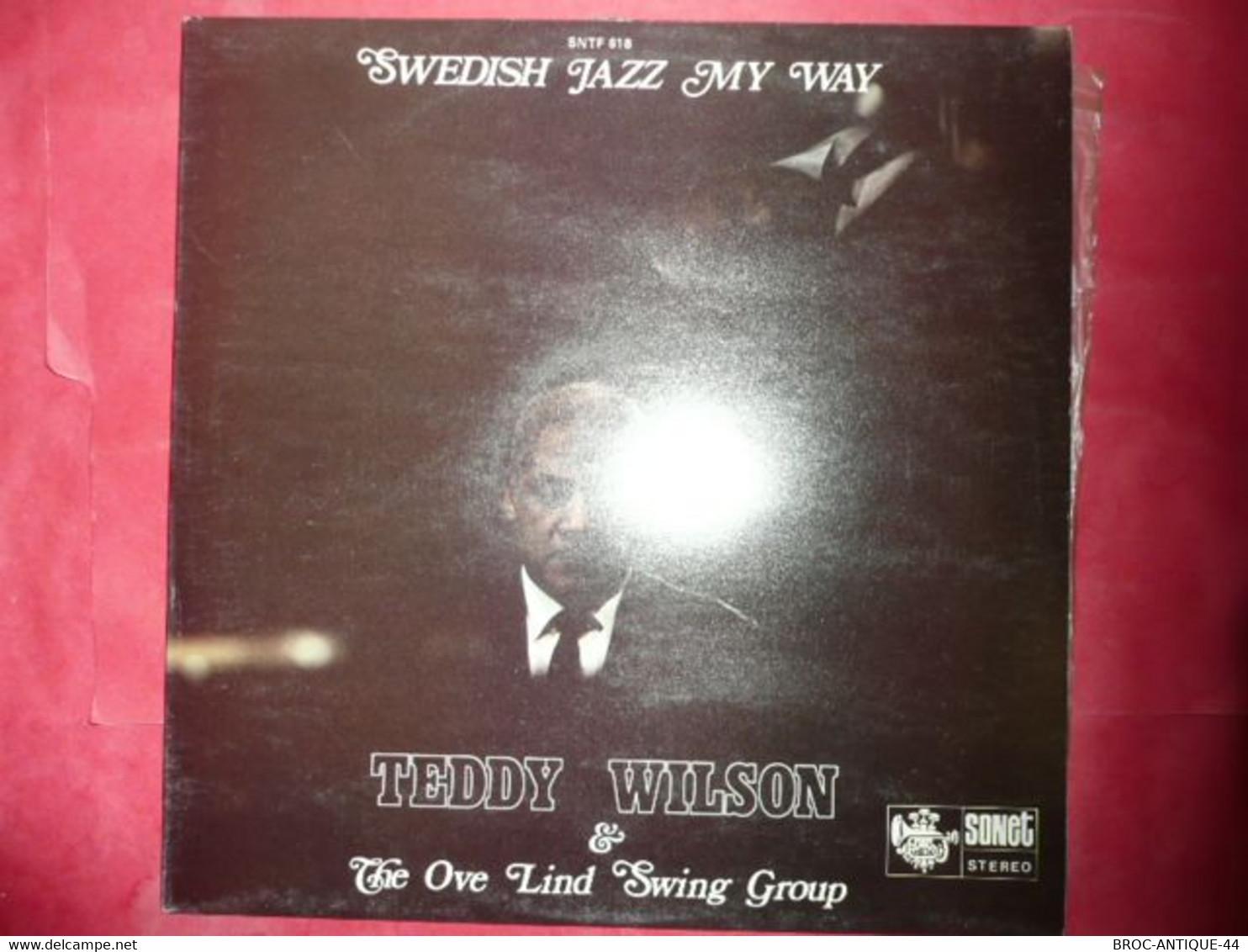 LP33 N°8106 - TEDDY WILSON & THE OVE LIND SWING GROUP - SNTF 618 - Jazz