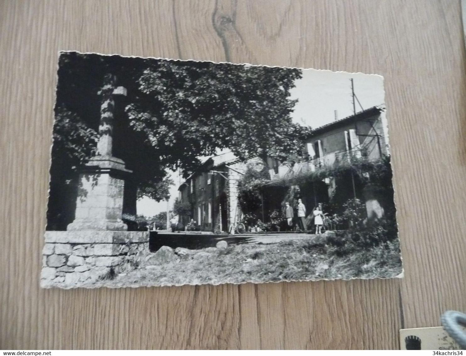 CPSM PF 30 Gard Aujac Entrée Du Village - Other Municipalities
