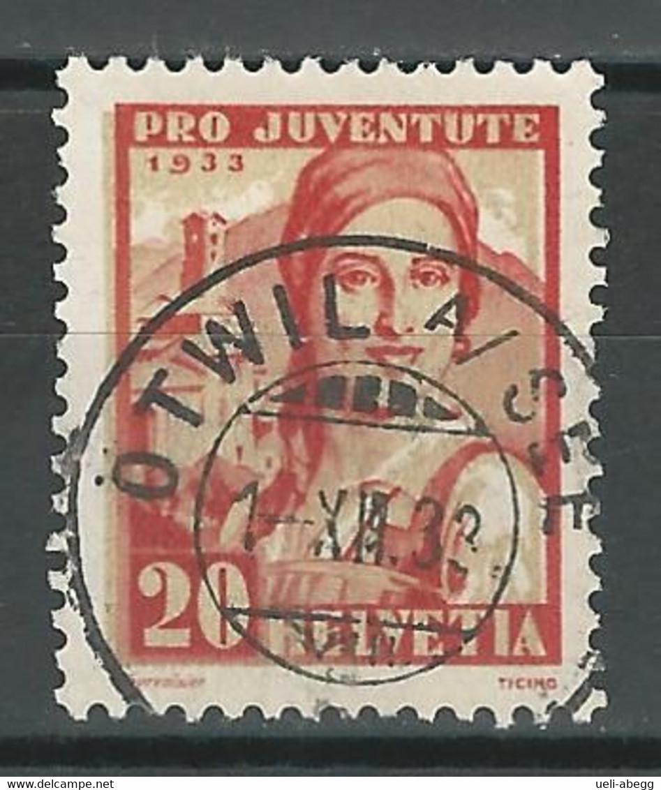 SBK J67, Mi 268 O Ötwil A. See - Used Stamps