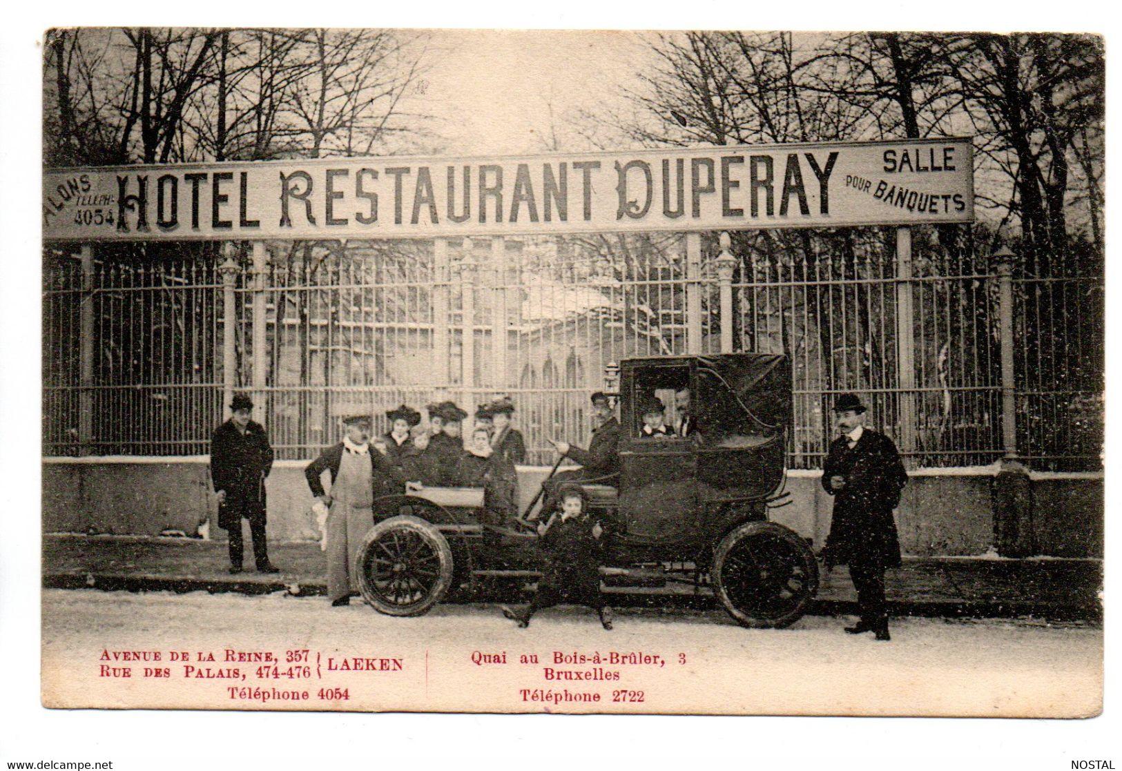 B1. Hotel-restaurant Duperay Laeken - Laeken