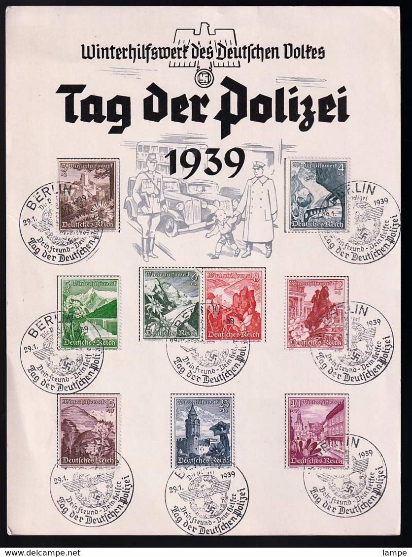 Deutsches Reich 675/83 Auf Anlassbeleg - Covers & Documents