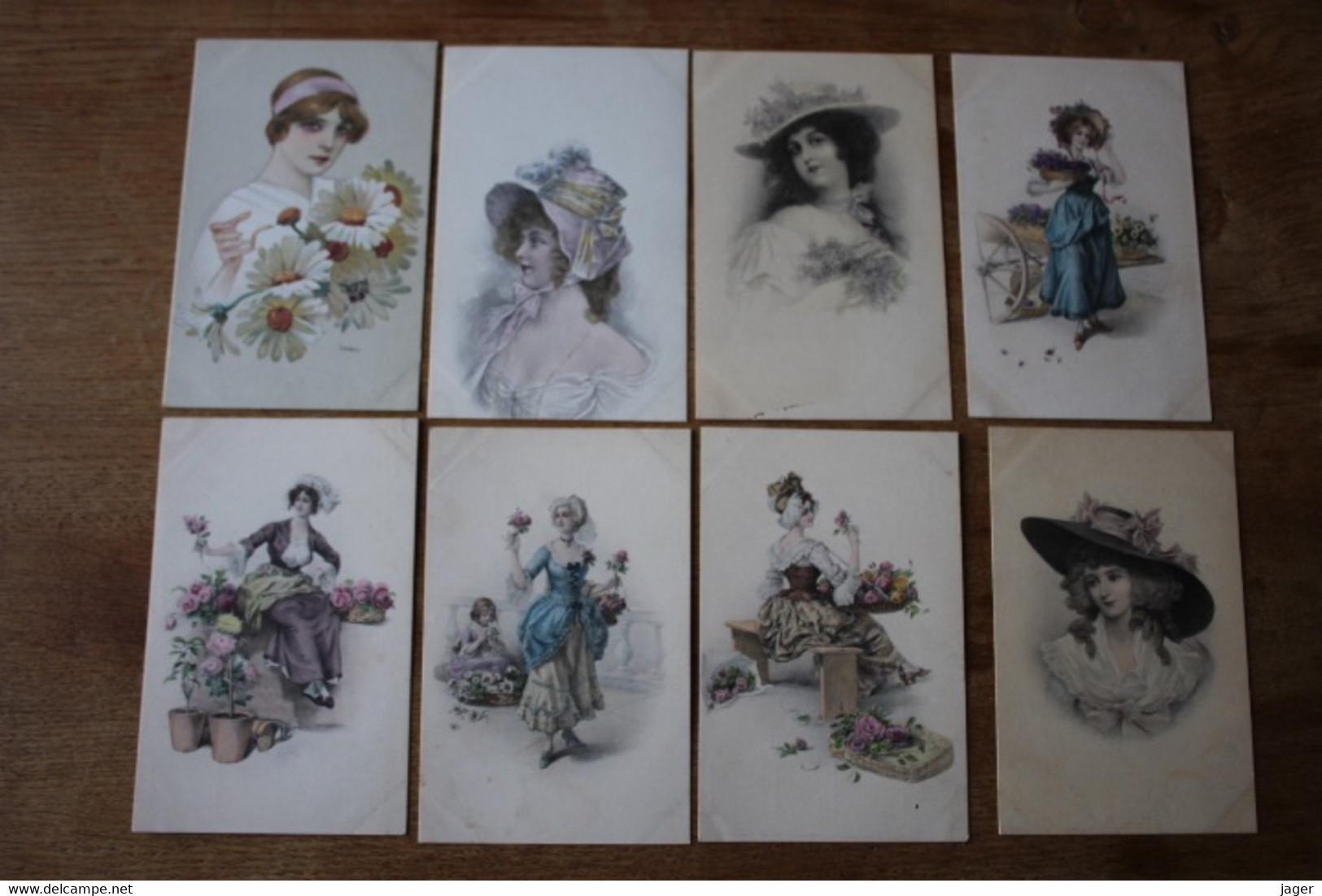 19 CPA Illustrateur VIENNE  Divers  Femme Vers 1910  Bonne Série - Vienne