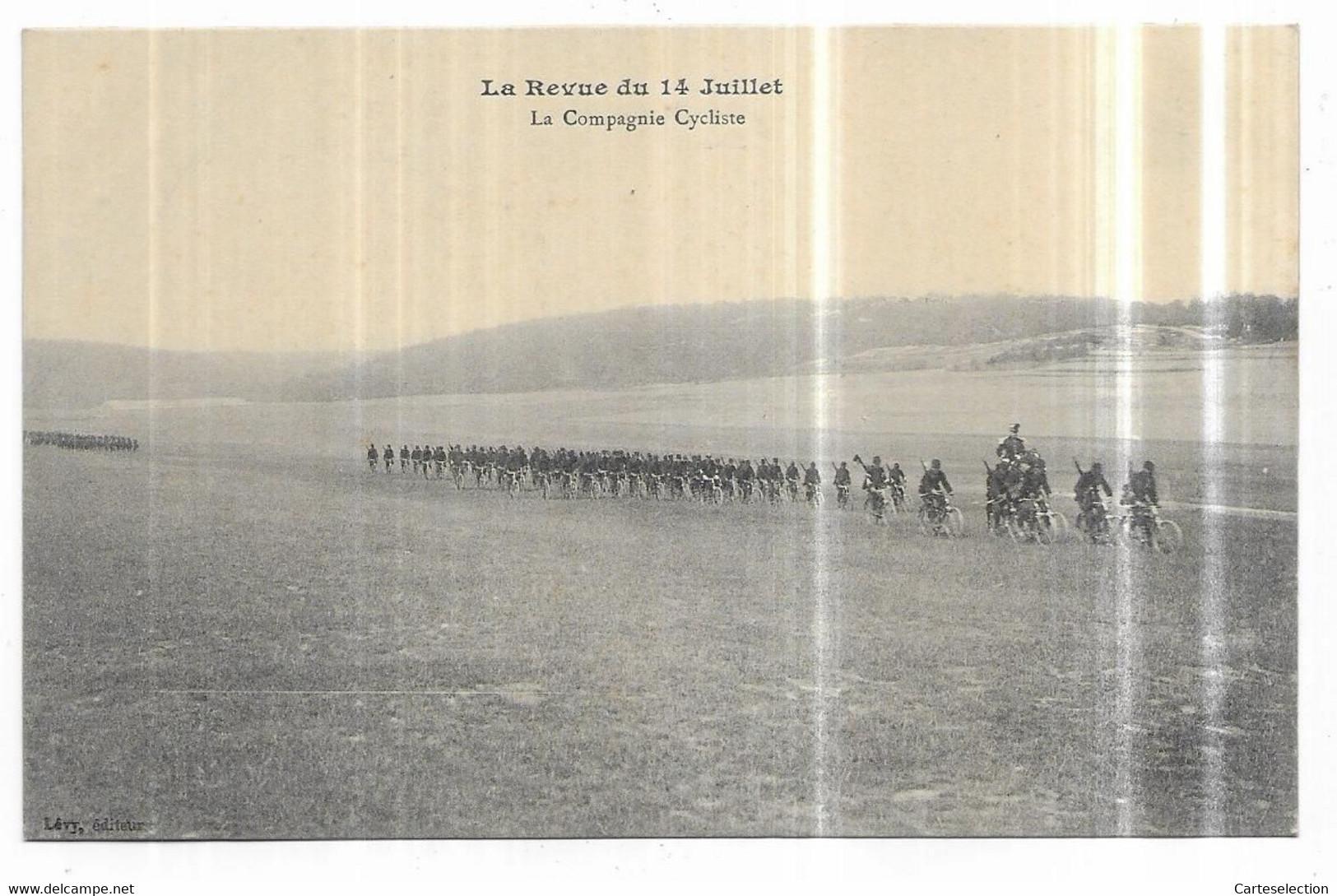 Saint Mihiel La Revue Du 14 Juillet La Compagnie Cycliste - Saint Mihiel
