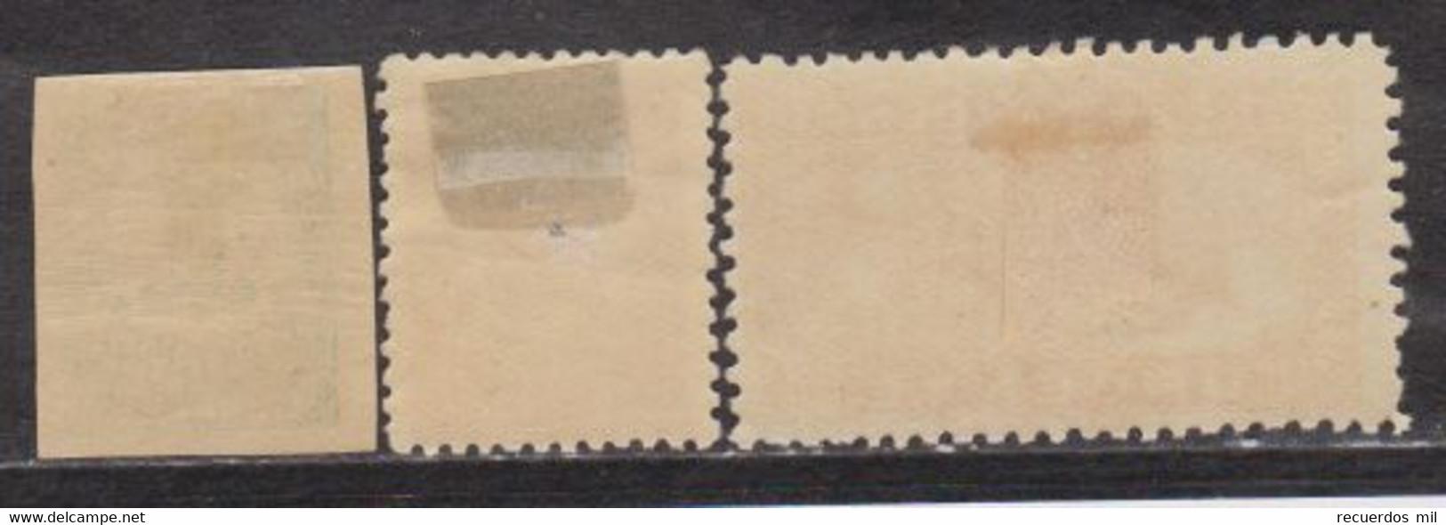 Año 1933-34 Edifil 677-678-679 - 1931-50 Ungebraucht