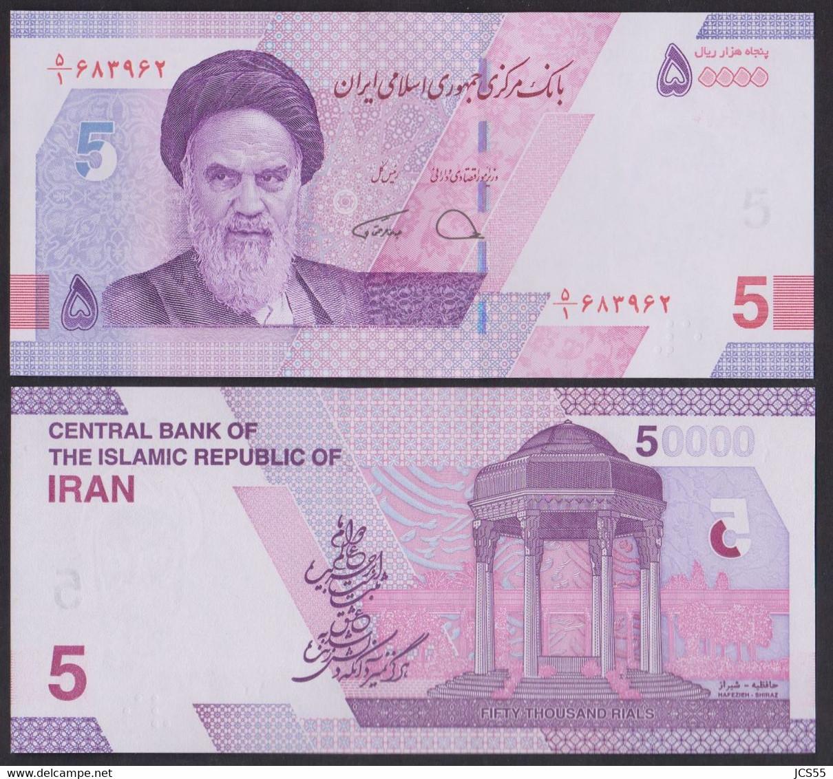 Iran   -   50.000 Rials  UNC  New Issue 2021 - Iran