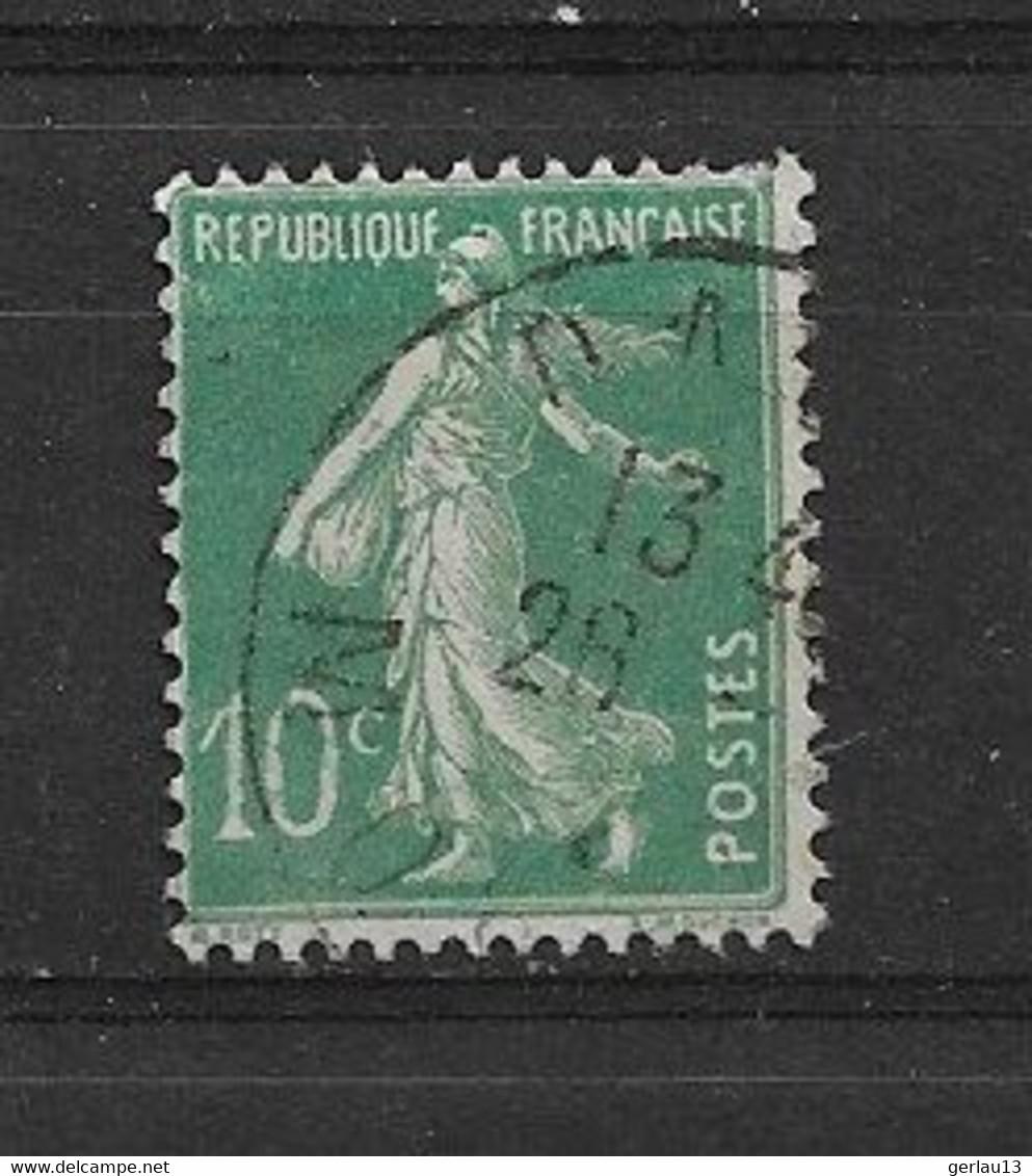 FRANCE   N° 188B  OBLITERE - 1906-38 Semeuse Con Cameo