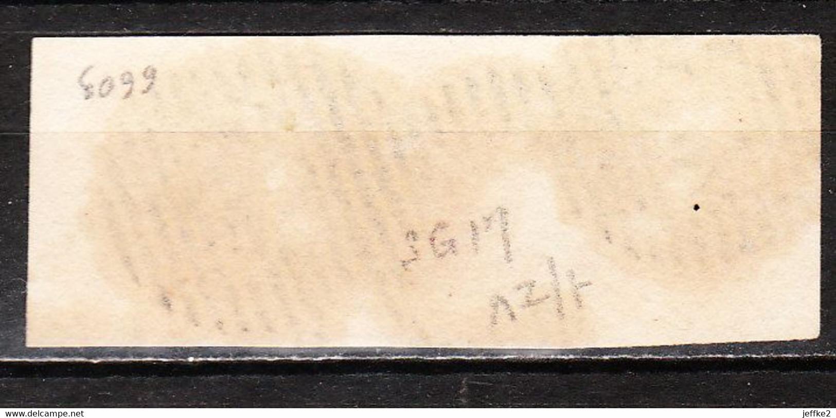 8 Ou 12  Médaillon Non Dentelé - Bande De 3 Margée - Oblit. P45 GAND - SUPERBE!!!! - 1851-1857 Medallions (6/8)
