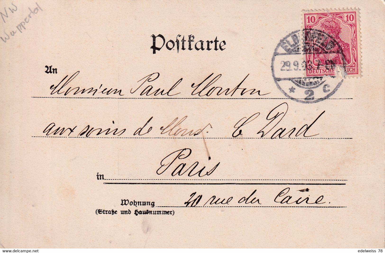 DE-NW: (Wuppertal): Gruss Aus ELBERFELD - Wuppertal