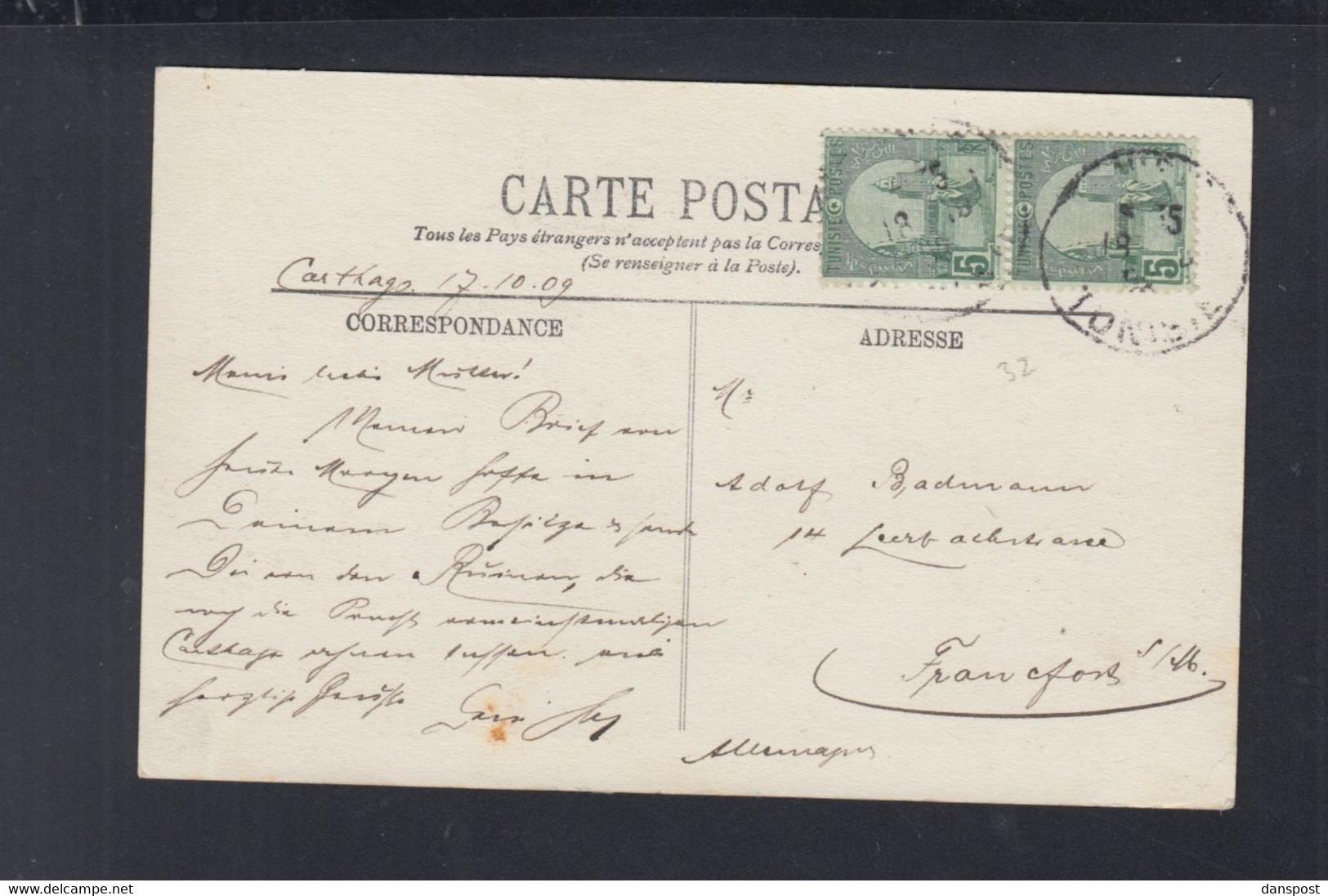 Frankreich France Tunisie AK Carthage 1909 - Tunesien