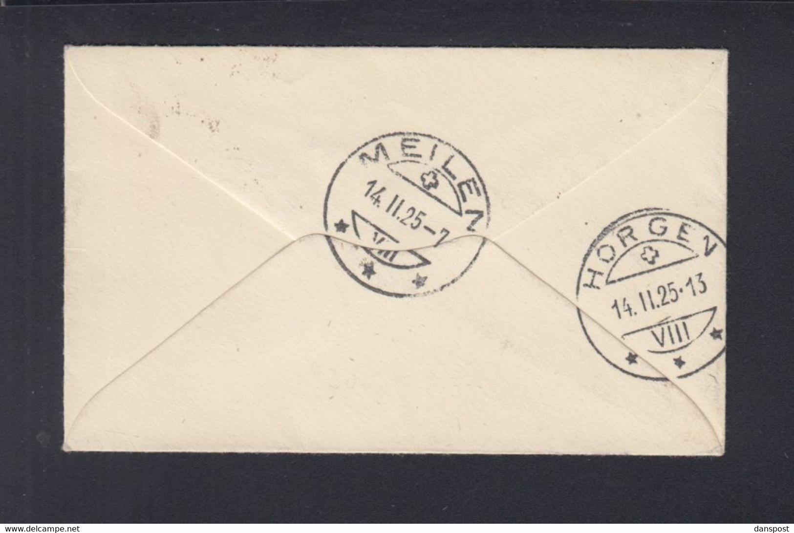 Frankreich France Tunisie Kleinbrief 1925 Tunis Nach Schweiz - Briefe U. Dokumente