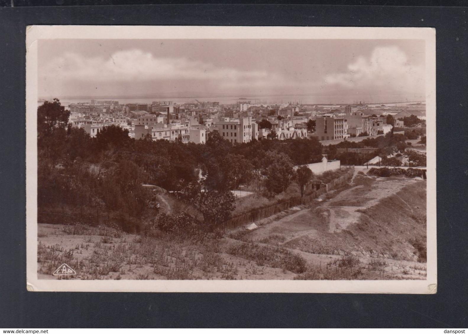 Frankreich France Tunisie AK Tunis Panorama 1935 - Tunesien