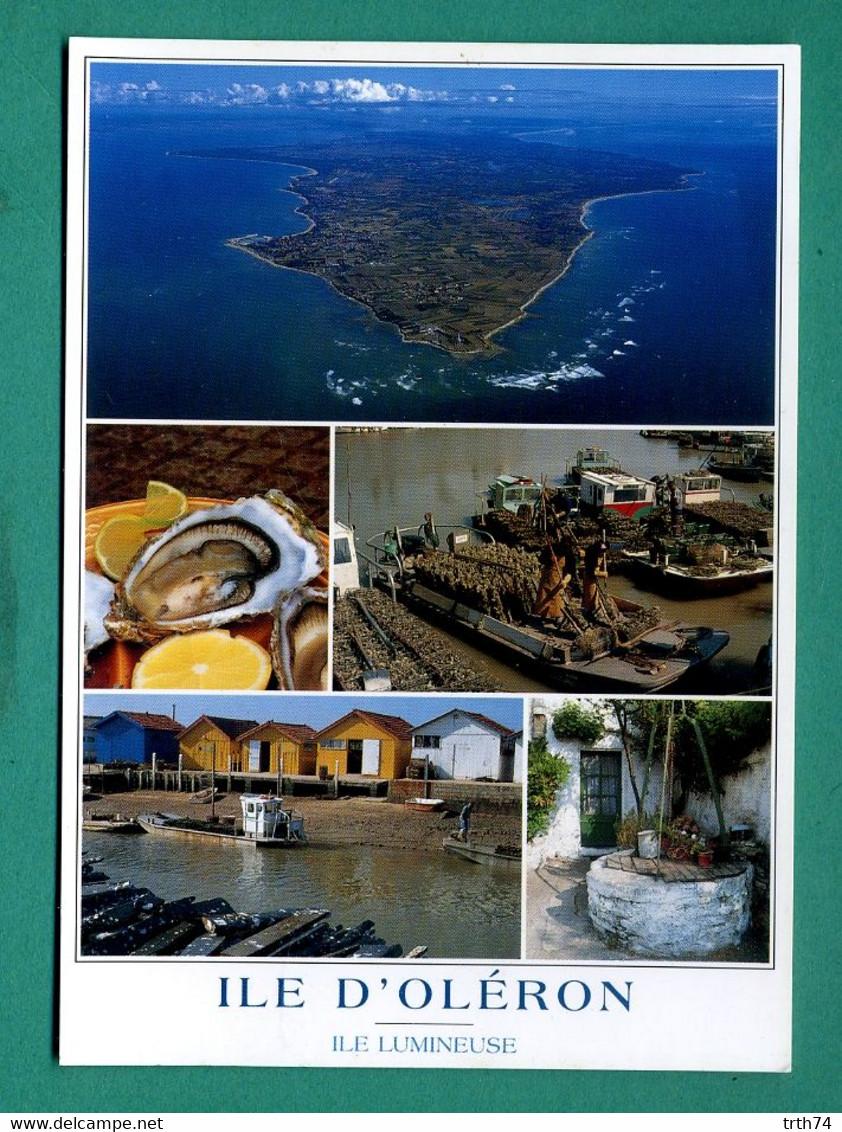 17 Ile D' Oléron ( Multivues, Huitres, Cabanes Ostréicoles, Puits, Vue Aérienne ) - Ile D'Oléron