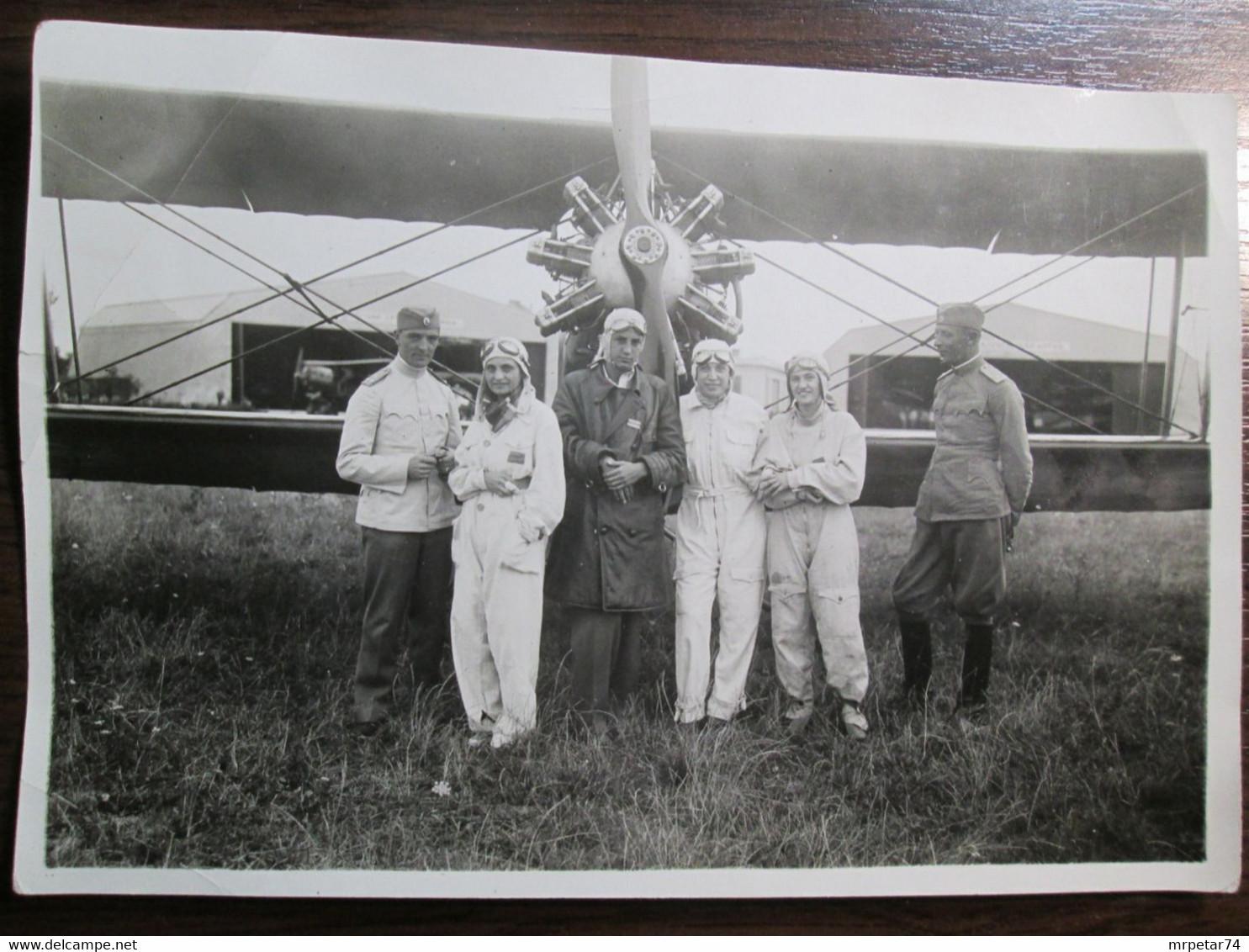 Royal Yugoslavia Air Force Hunter Escadrille Novi Sad Serbia 1933. - Anonyme Personen