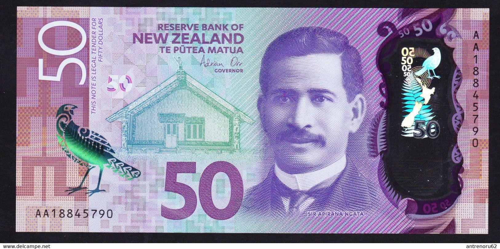 BANKNOTES-NEW-ZEALAND-50-$-SEE-SCAN-POLYMERIC - Nuova Zelanda
