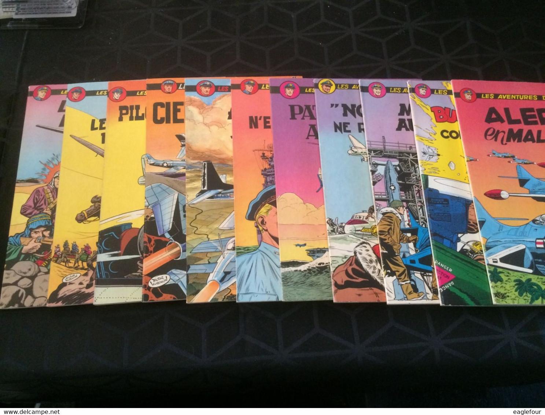 Collection Complète BUCK DANNY (sauf Dernières Parutions) 53 Albums Dont 40 Premiers Brochés TBE/TTBE */** - Buck Danny