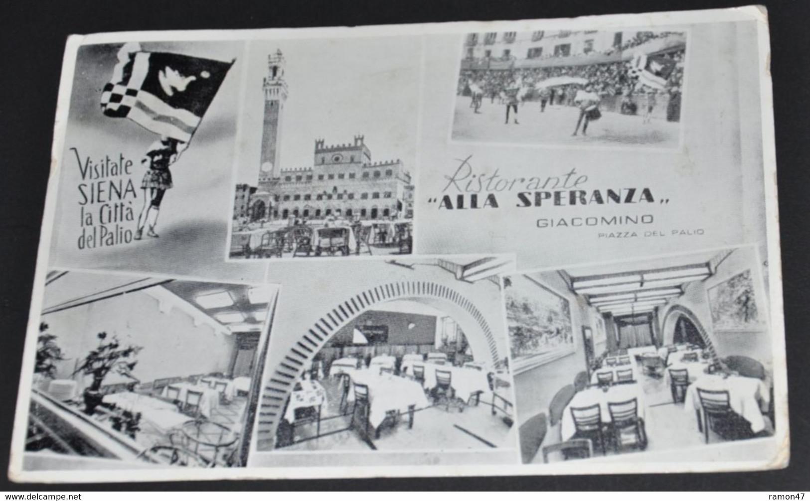 """Siena, Restaurante """"Alla Speranza"""" - Hotel's & Restaurants"""