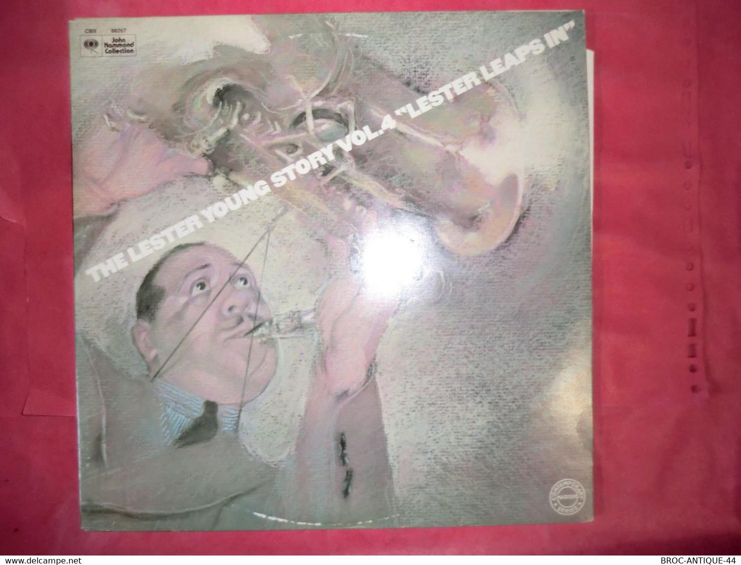 LP33 N°8244 - LESTER YOUNG - 2 LP'S - MONO 88266 - Jazz